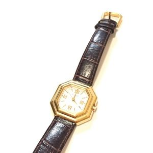 Vintage Ecclissi watch genuine leather band